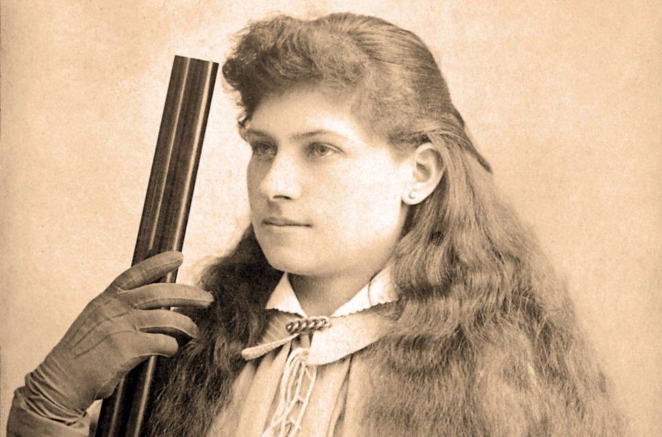 Annie Oakley (1860-1926) - Circusartiest en scherpschutter