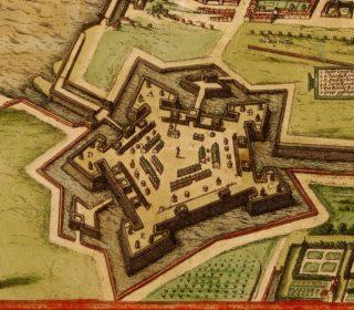 Citadel van Antwerpen in 1572 - cc