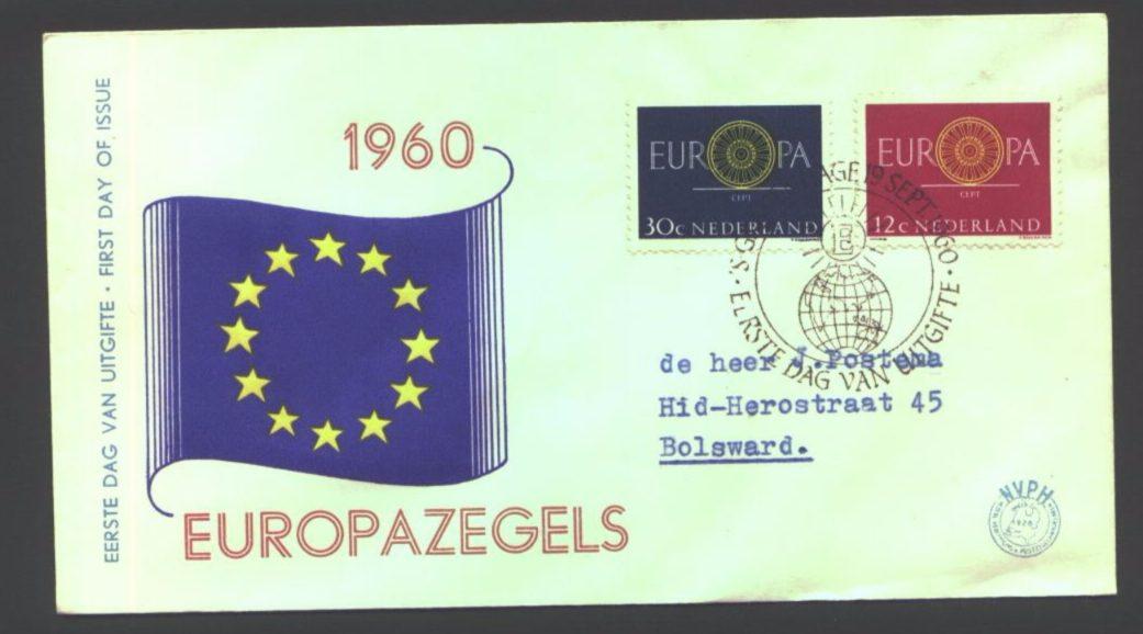 Europazegels - cc