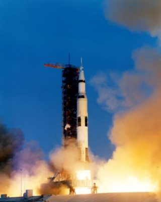 Lancering van Apollo 13 (cc - NASA)