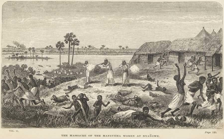 Slachting in Nyangwe - Afb: Universiteit van Californië