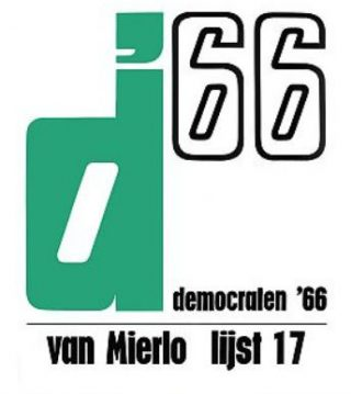 Verkiezingsposter van D'66
