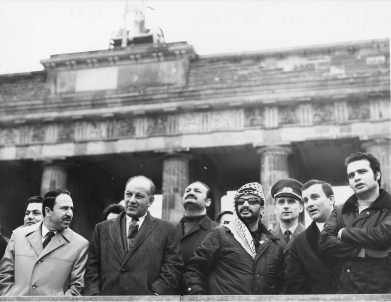 Arafat in Oost-Berlijn (1971) - cc | Bundesarchiv
