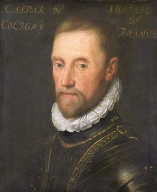 Louise's vader Gaspard de Coligny