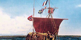 De Kon-Tiki, per vlot naar Polynesië (1947)
