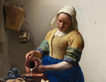 Melkmeisje van Johannes Vermeer