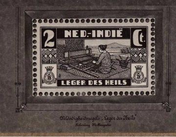 Postzegel uit Nederlands-Indië (Geheugen van Nederland)