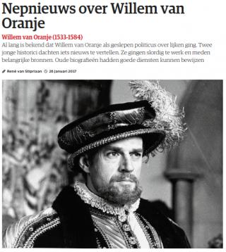 Fragment uit de recensie van  René van Stipriaan in het NRC, 26 januari 2017