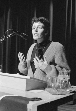 Ina Brouwer in 1985. Bron: Nationaal Archief