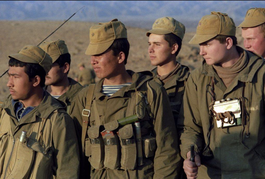 Leden van een Russische eenheid tijdens de Afghaanse Oorlog (cc - RIA Novosti)