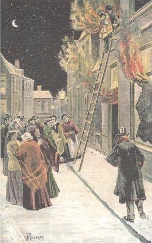 Levi de Boekenjood redt zijn grootste plaaggeest uit een brandend huis.