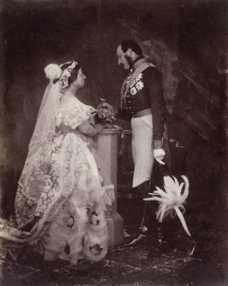 Victoria en Albert, Buckingham Palace, 1854