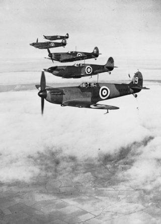 Britse spitfires