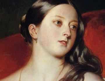 Koningin Victoria, door Franz Xaver Winterhalter (1843)
