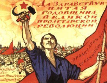De Russische Revolutie - Propagandaposter