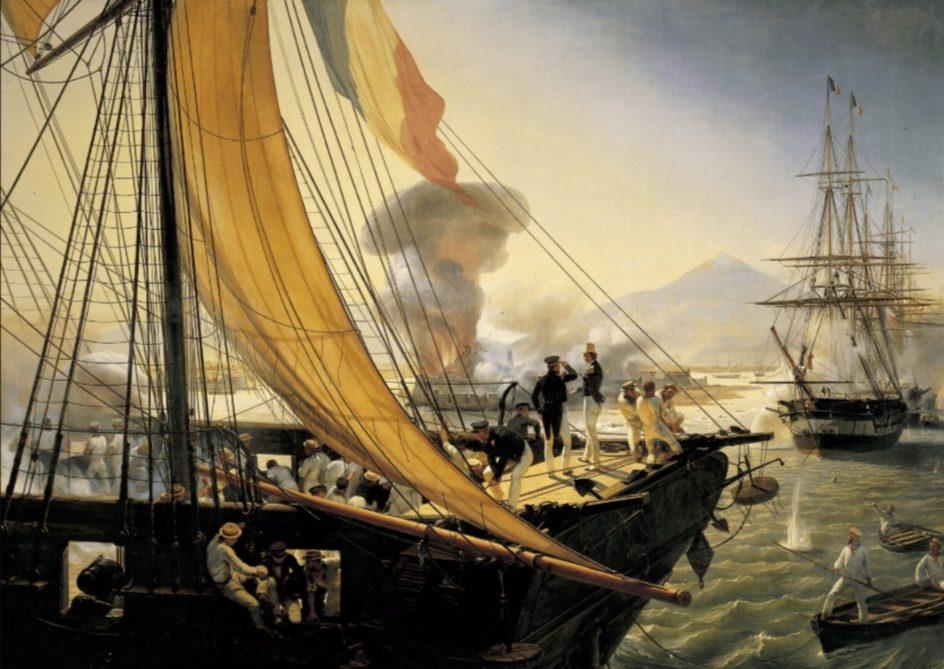 Franse troepen bij Mexico, 1838
