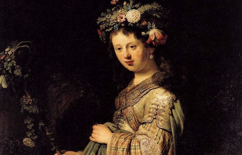 Rembrandt van Rijn, Flora, 1634 (detail) © State Hermitage Museum, St Petersburg