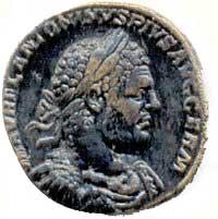 Sestertie met afbeelding van keizer Caracalla - cc
