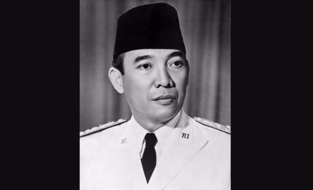 Soekarno in 1949 - cc