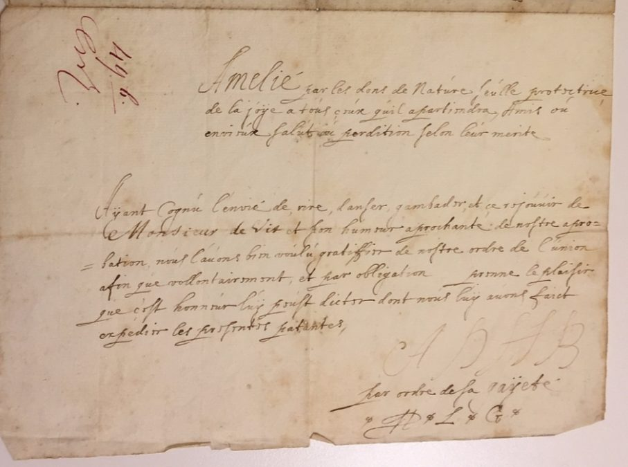 Diploma van Johan de Witt 23 februari 1653, NA, 3.20.66.01 Archief De Witt-Beijerman