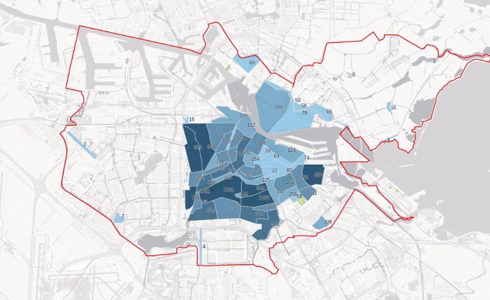 De NSB in Amsterdam in kaart gebracht
