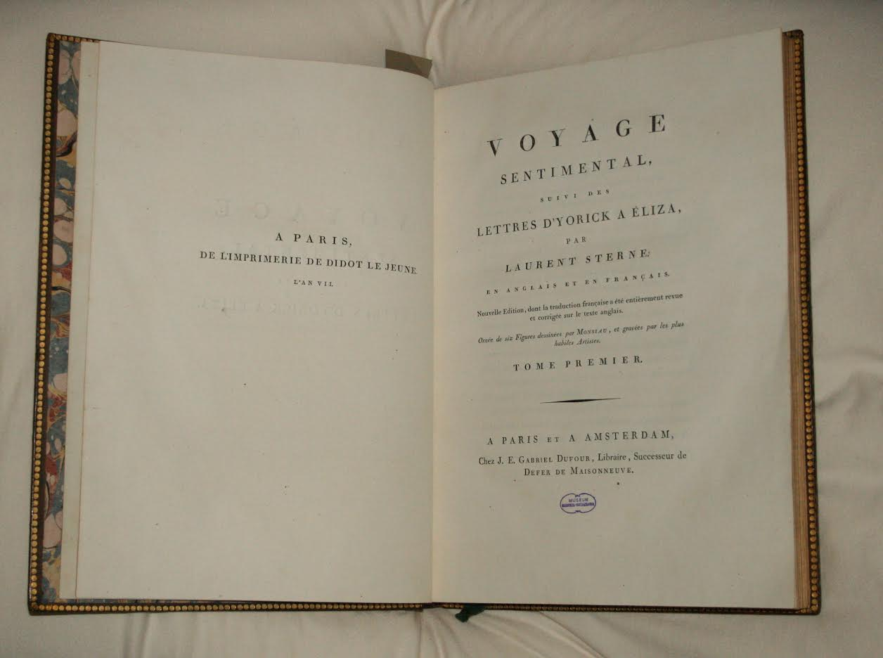 De sentimentele reis van Laurence Sterne (Museum Meermanno)