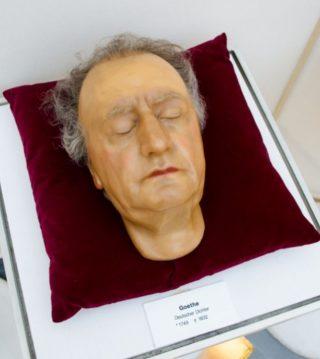 Dodenmasker van Goethe (Panoptikum Mannheim - cc)