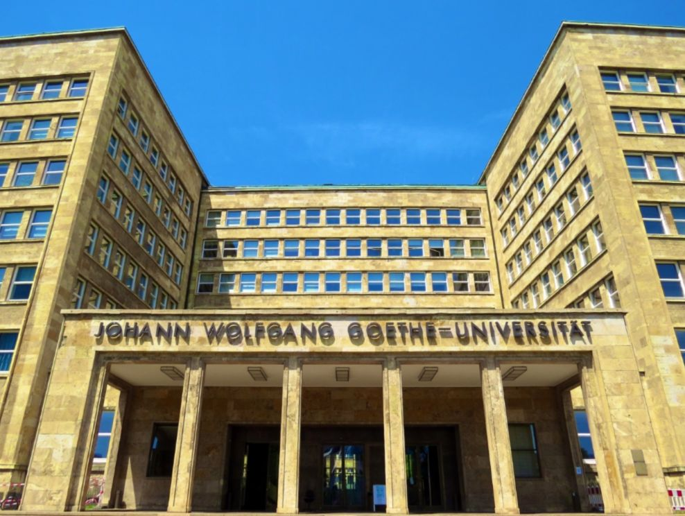 Goethe Universiteit in Frankfurt am Main - cc