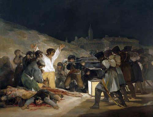 Los fusilamientos del tres de mayo - Goya