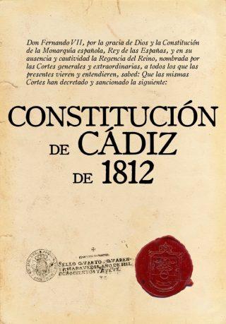 Grondwet van Cádiz