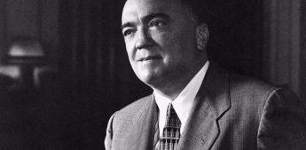J. Edgar Hoover (1895-1972) – De legendarische FBI-directeur