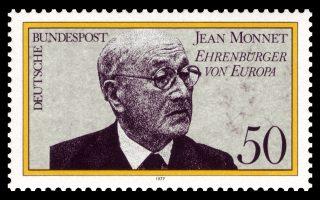 Jean Monnet, een van de grondleggers van de EU