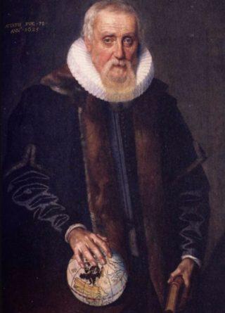 Ubbo Emmius, de eerste rector magnificus van de Academie te Groningen, tegenwoordig de Rijksuniversiteit Groningen.