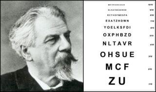 Ferdinand Monoyer en zijn oogkaart