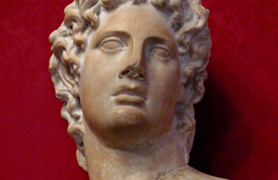 Buste van Alcibiades, Romeinse kopie van Grieks origineel, Musei Capitolini