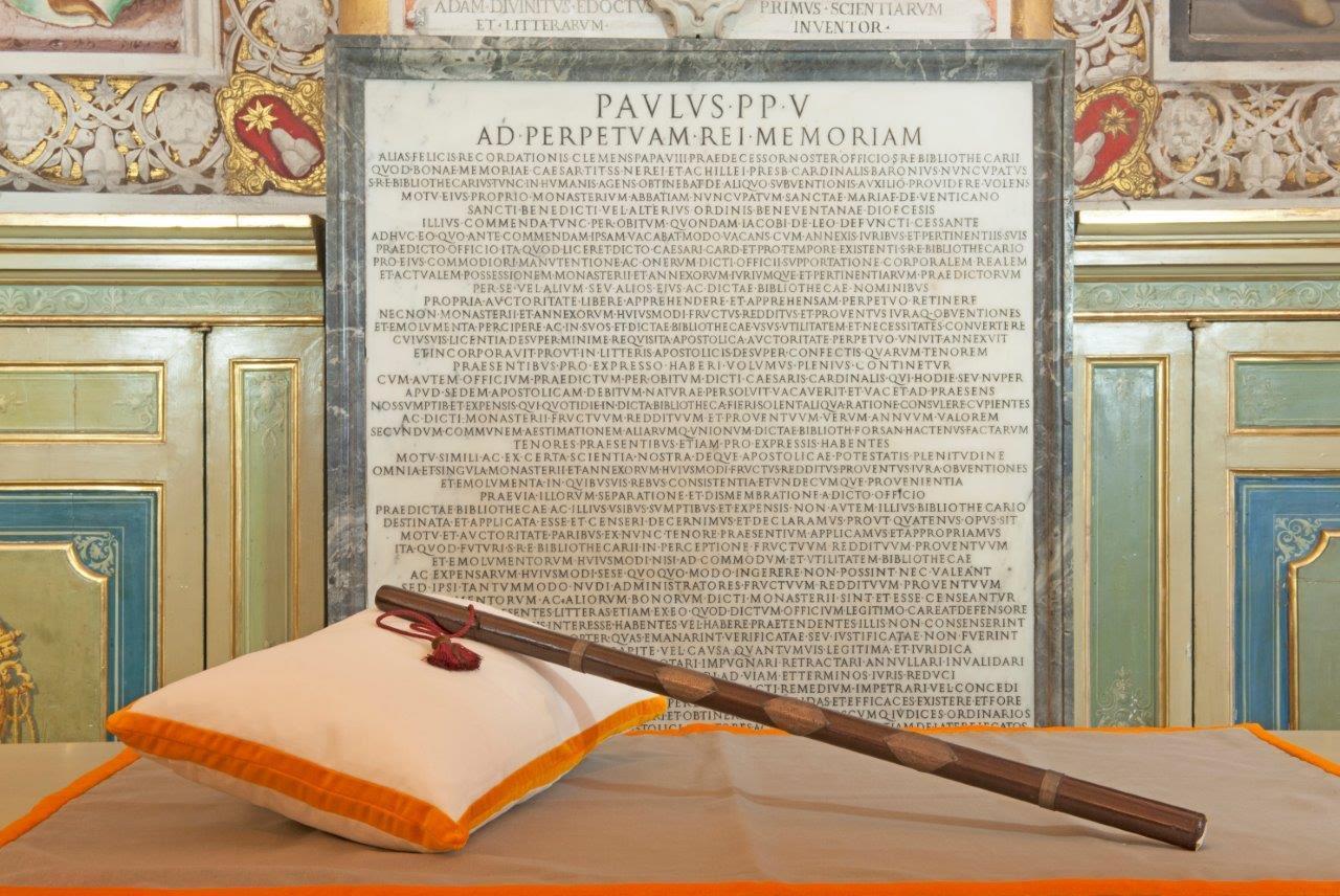 De baton of bevelhebbersstaf van Willem van Oranje (NMM)