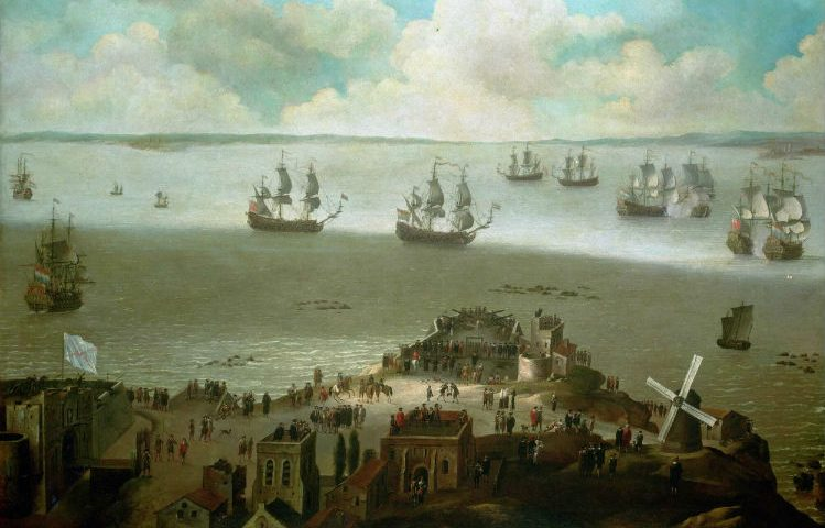 Slag in de haven van Cadiz, 23 februari 1674