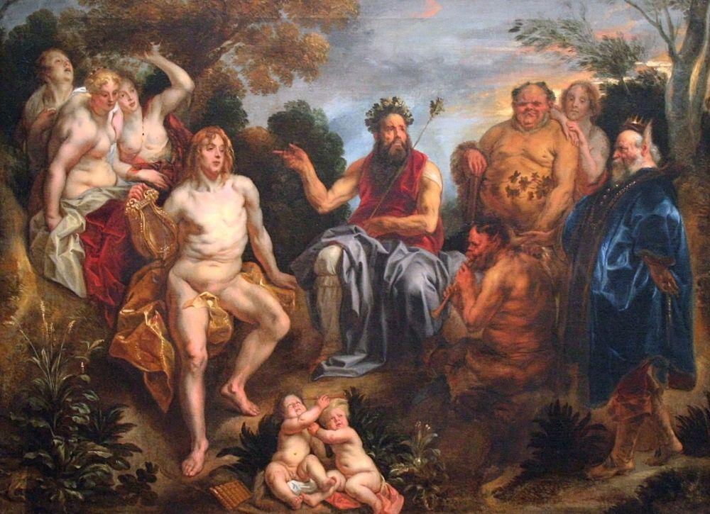Jacob Jordaens - Het oordeel van Midas