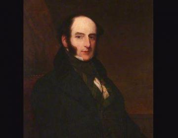 Robert Liston, 1847 portret door Samuel John Stump