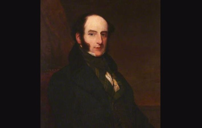 Robert Liston, 1847 portret door Samuel John Stump