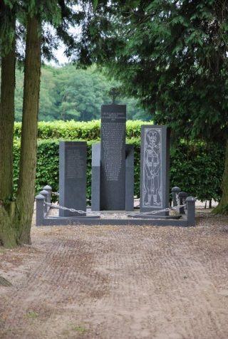 het monument in Garderen, juni 2012 (Fabian Vendrig)