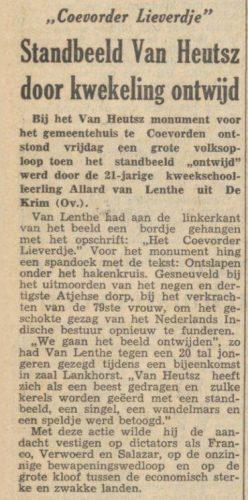 Nieuwsblad van het Noorden , 12 april 1954 (Delpher)