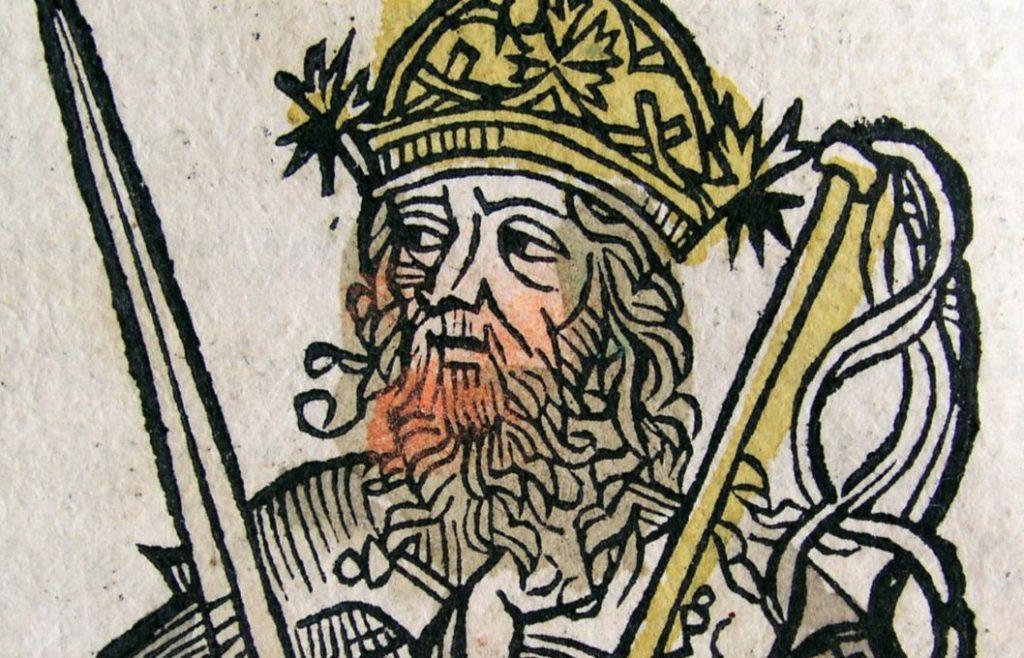 Attila de Hun in het Liber Chronicarum (1493)