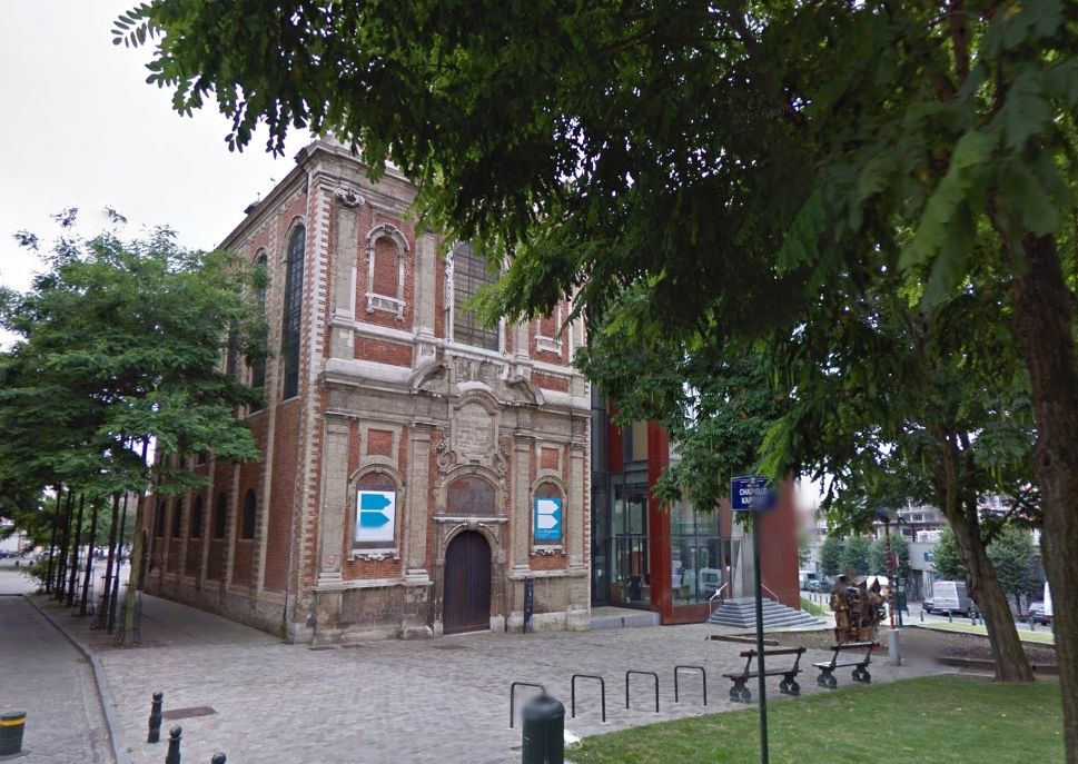 Brigittinenkapel in Brussel (Google Street View)