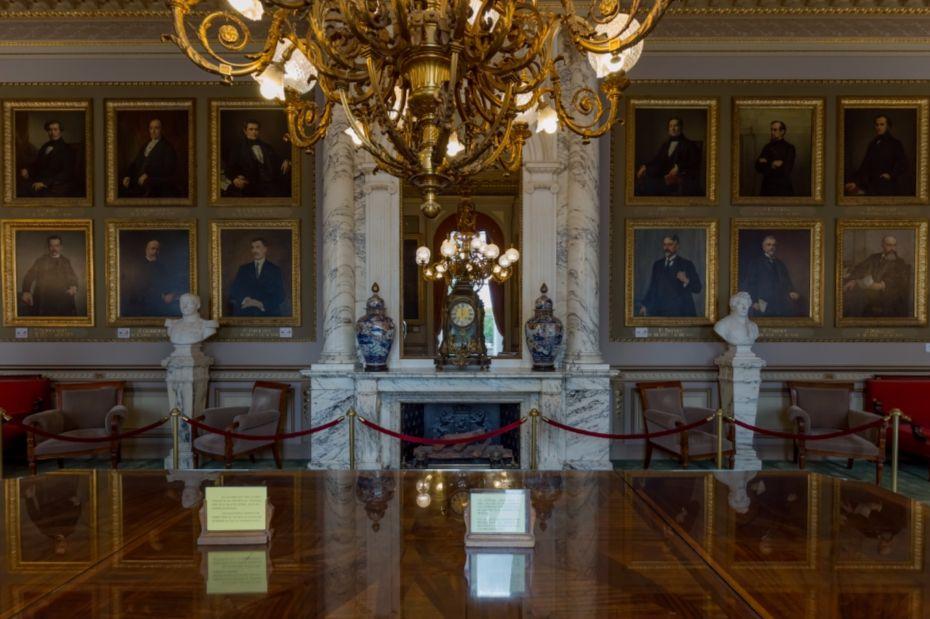 De leeszaal van het Paleis der Natie - cc