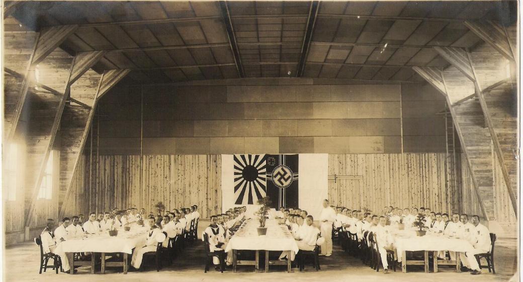 Duitse en Japanse samenwerking in Penang (bron onbekend)
