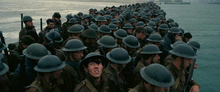 Still uit de film Dunkirk (© 2017 - Warner Bros)