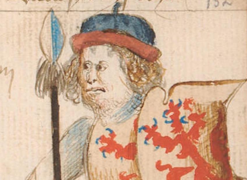 Graaf Dirk III van Holland - Hendrik van Heessel, vijftiende eeuw
