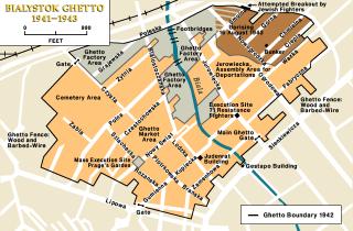 Kaart van het getto (wiki)