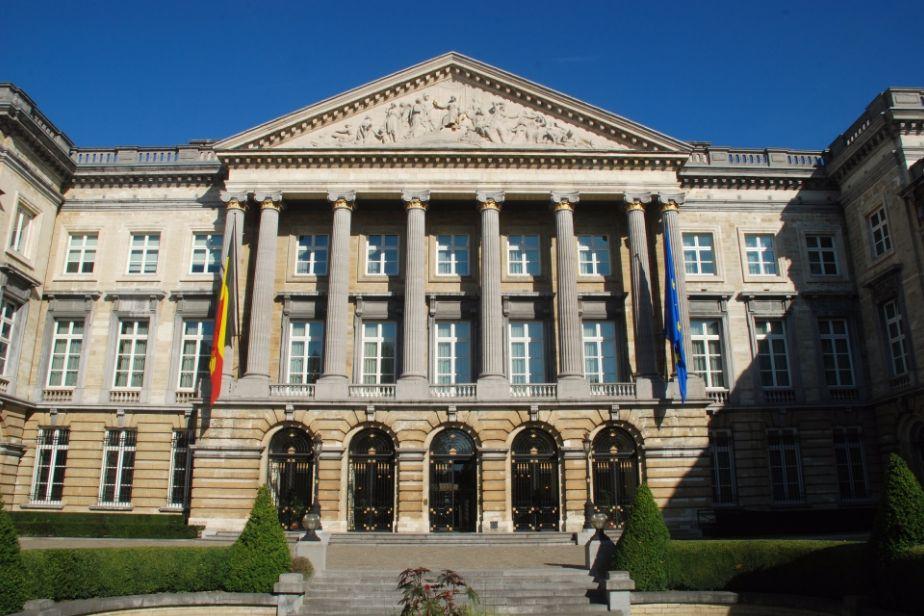 Paleis der natie zetel van het federaal parlement van belgi - Het upgraden van m ...